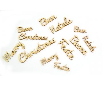 Scritte augurali di Natale