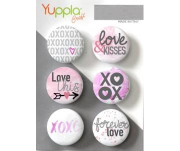 Buttons - XOXO