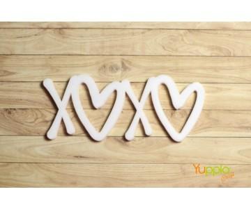 Prisma - XOXO - bianco sat.
