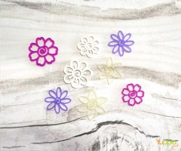 Hibiscus - colori misti satinati
