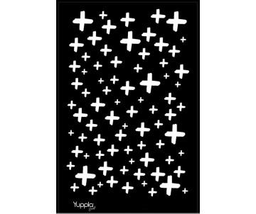 BLACK Stencil - Positivo