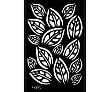 BLACK Stencil - Tappeto di...
