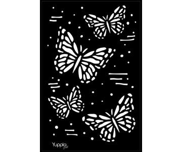 BLACK Stencil - Battito d'ali