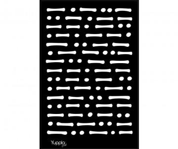 BLACK Stencil - Messaggio...