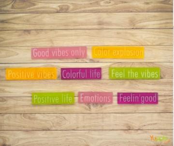 Prisma - frasi a colori