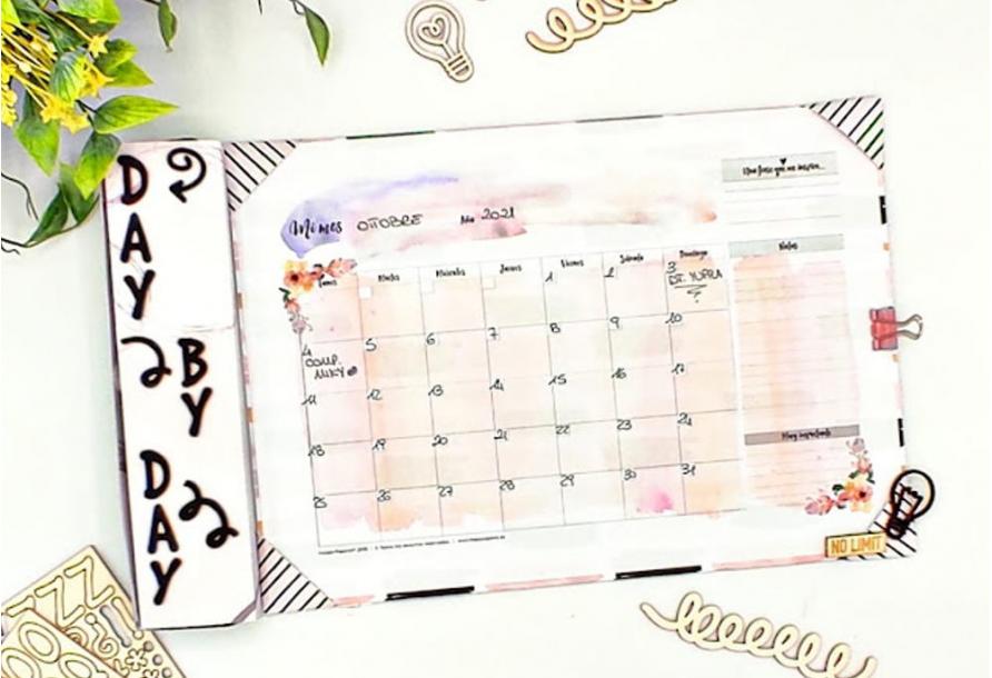 Planner mensile da scrivania