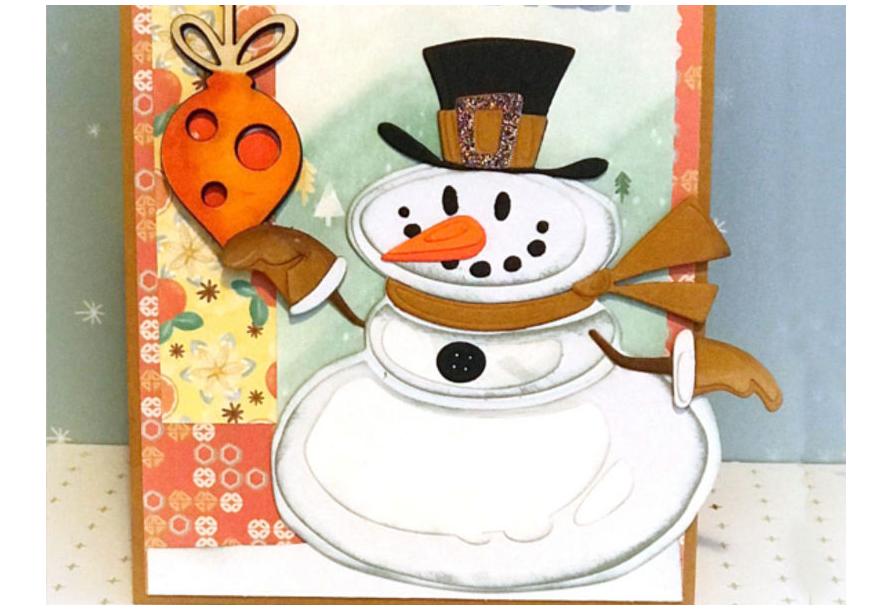Biglietto invernale - card